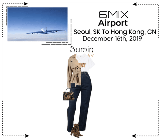 《6mix》Airport | Seoul, SK To Hong Kong, CN