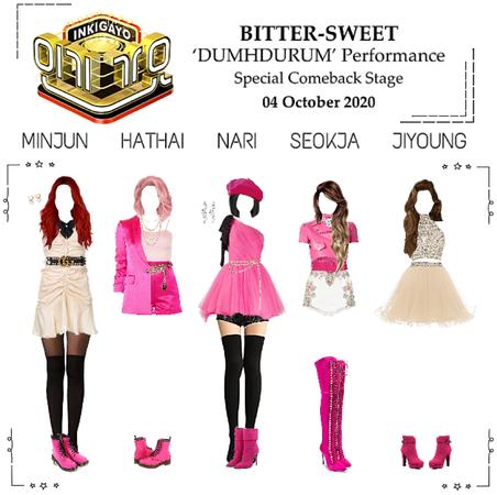 BITTER-SWEET [비터스윗] Inkigayo 201004