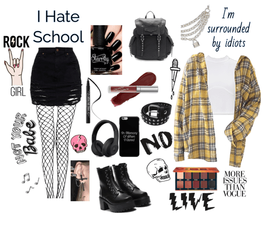 Back to school in grunge