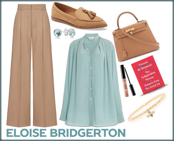 Eloise Bridgerton (Modern Version) Outfit 1