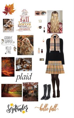 Preppy Autumn Style