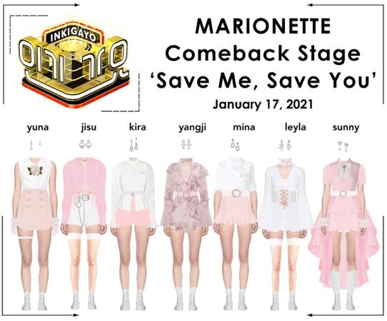 마리오네트 (𝗠𝗔𝗥𝗜𝗢𝗡𝗘𝗧𝗧𝗘) - [INKIGAYO] Comeback Stage