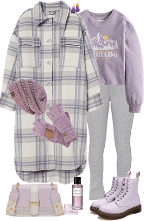 Lilac in Flannel