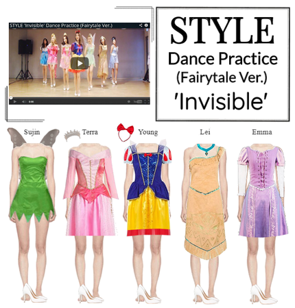 STYLE 'Invisible' Dance Practice (Fairytale Ver.)