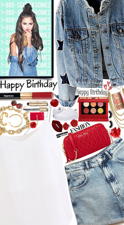 ❤️❤️❤️Happy birthday Selena Gomez❤️❤️❤️