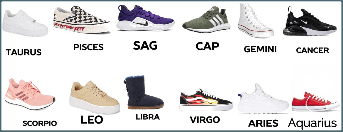 @faith07 shoes for zodiac signs