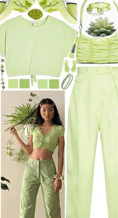 Green Monochrome