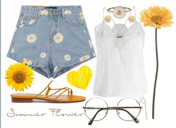 Summer Flower - Ruth