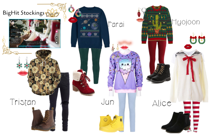 Dei5 BigHit Stocking Pick Up (Outfits)