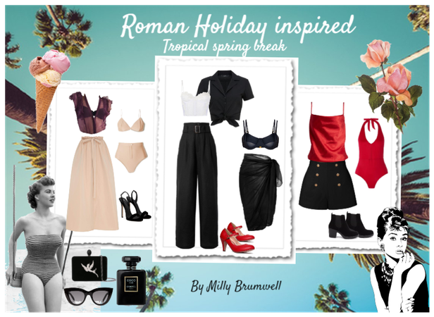 Roman Holiday tropical spring break