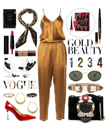 Gold & Black w/ Accent Colours