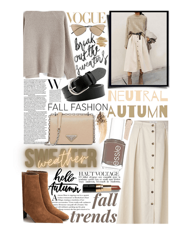 FALL TREND: Neutral Sweater Weather