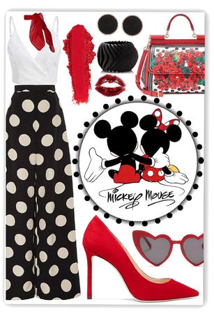 Mickey&Minnie Style🖤❤️