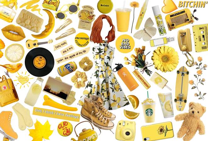 Lemon Lesbian Yellow Aesthetics 💛💛💛💛