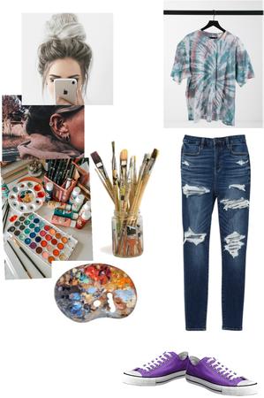 artsy women 🎨