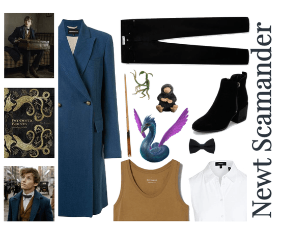 """Inspired by Newt Scamander of """"Fantastic Beasts"""""""