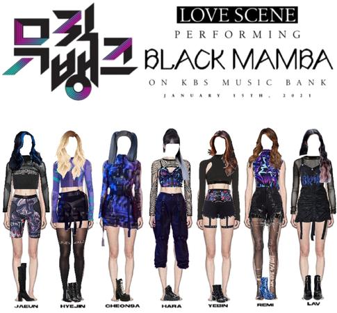 LOVE SCENE   20210115 KBS MUSIC BANK STAGE ~ BLACK MAMBA