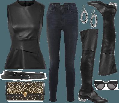 Leather & Skulls