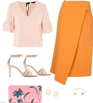 Baby Pink and Yellow