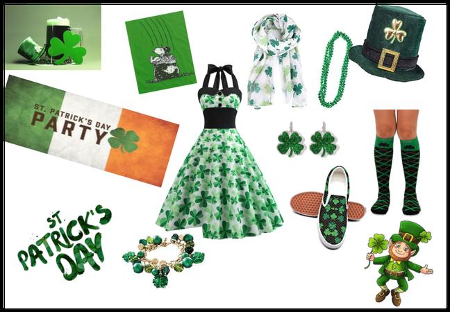# Go Green #St. patricks day