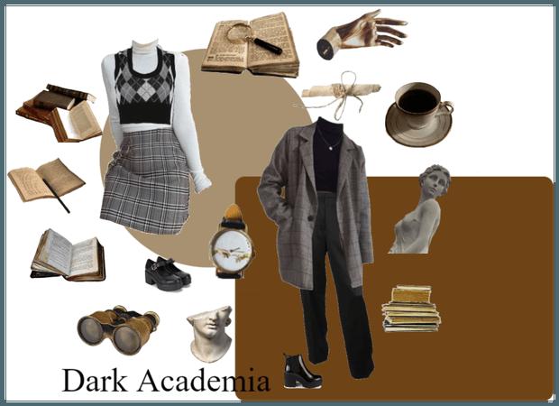 dark academia - spring/fall