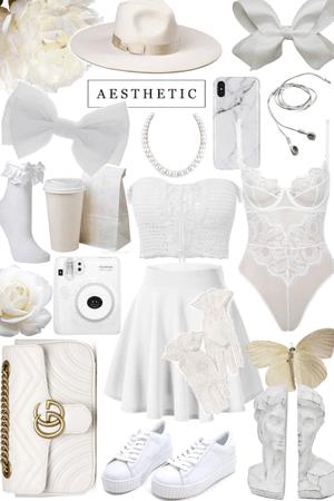 white mess