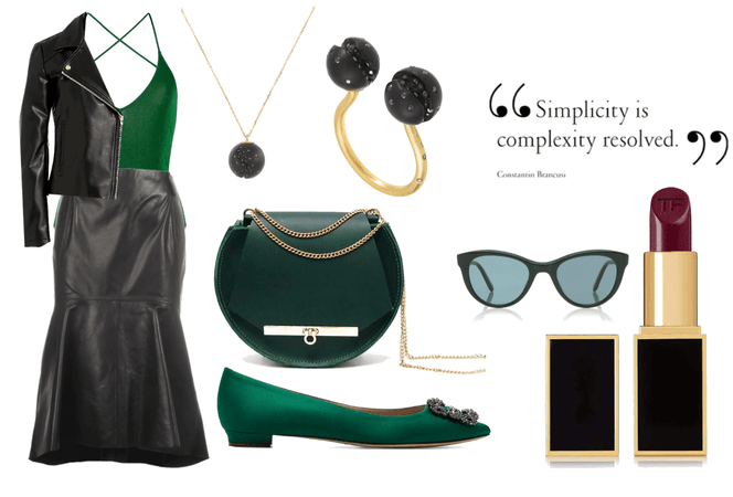 Emerald chic