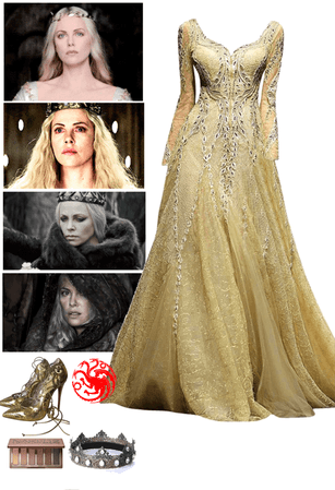 Queen Rhaella Targaryen (Mother of Rhaegar, Viserys, and Daenerys)