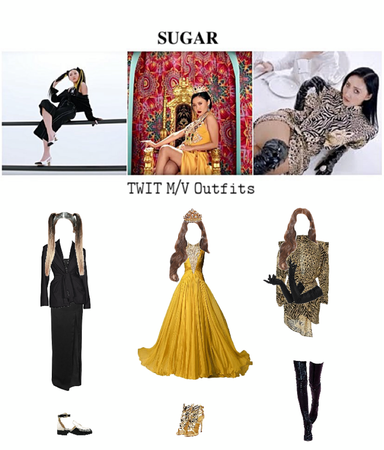 ☕︎︎𝚂𝚄𝙶𝙰𝚁☕︎︎ Twit m/v outfits part 2