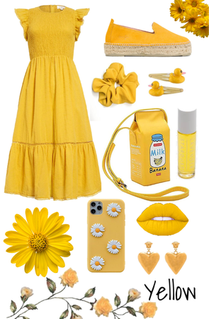 yellow outfit 💛