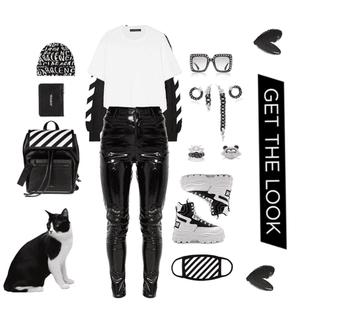 Black x White