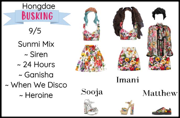 BUSKING   Hongdae 9/5 Sunmi Mix