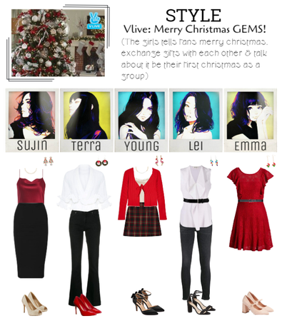 STYLE Vlive: Merry Christmas GEMS!