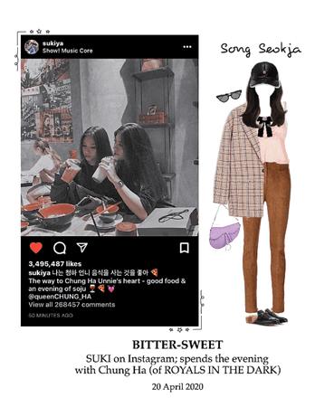 BITTER-SWEET [비터스윗] Instagram 200420