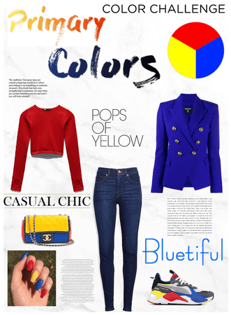 Primary Colors Challenge❤️💛💙