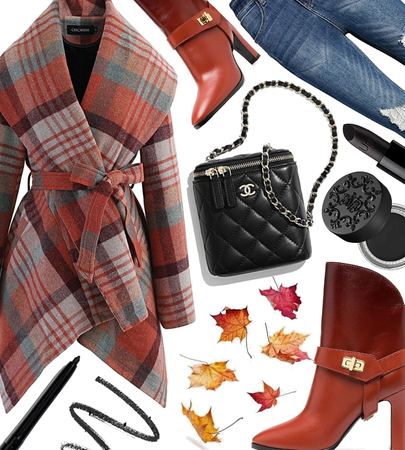 FALL 2020: Plaid Coat Style