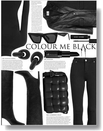 colour me black 🖤
