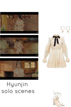 secret MV- Hyunjin solo scenes