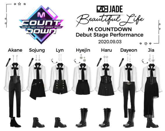 JADE [제이드] M Countdown Debut Stage 200903