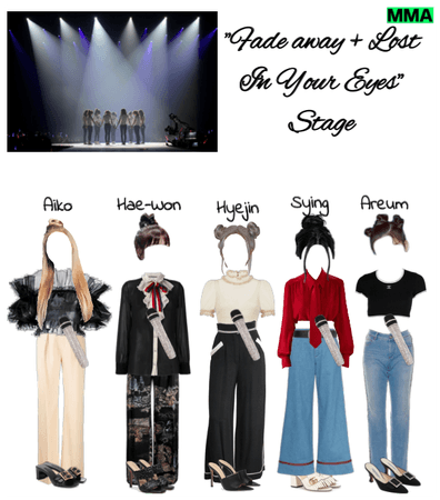 """Fade Away + Lost In Your Eyes"" Stage (MMA)"