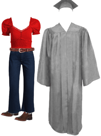 graduate outfit