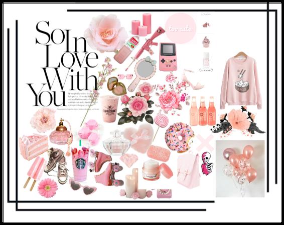 angel love pink