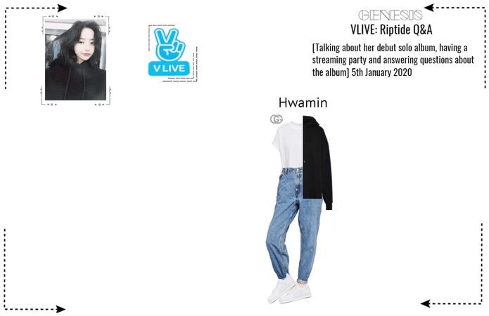 GENESIS (게네시스) Hwamin - Riptide Q&A VLIVE
