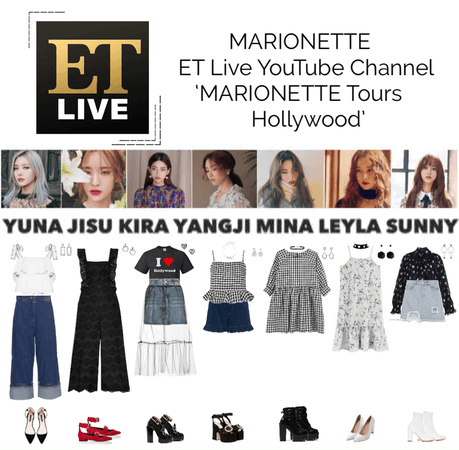 MARIONETTE (마리오네트) ET Live YouTube Channel | 'MARIONETTE Tours Hollywood'