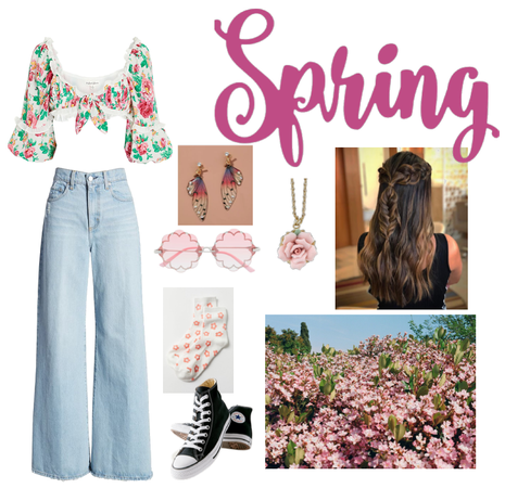 Spring Floral Butterflies