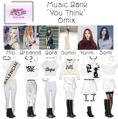 6mix - Music Bank Live 'You Think'