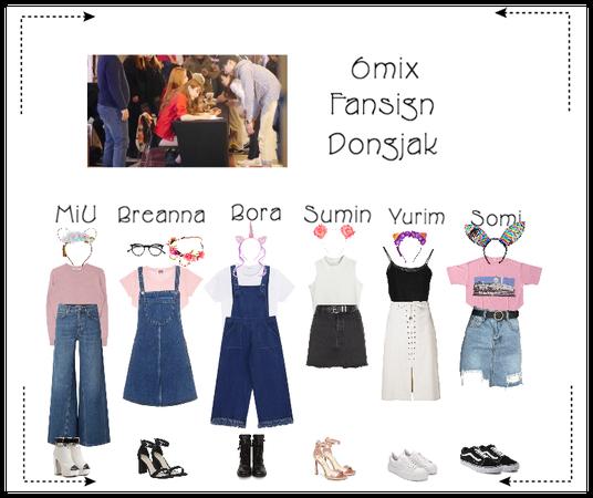 《6mix》Dongjak Fansign