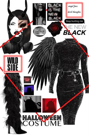 The Devil in Black.
