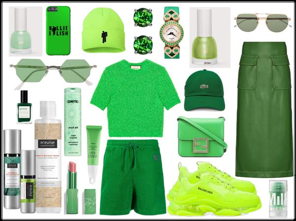 Green<3