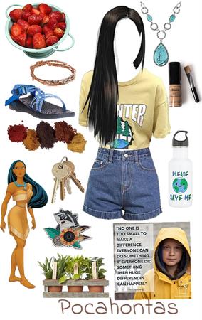 Pocahontas- Environmental Activist